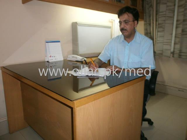 Dr  Syed Sohail Tanvir, Nephrologist, Ali Medical Centre